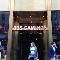 Photo taken at Dos Caminos by Deejay M. on 5/4/2012