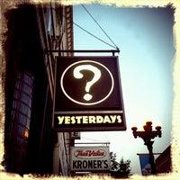 Photo taken at Yesterdays by Jennifer S. on 9/3/2012