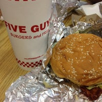 Photo taken at Five Guys by Anita R. on 6/22/2012