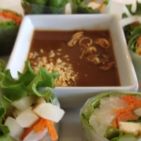 Photo taken at Loving Hut Vegan Cuisine by Kevin S. on 3/24/2012