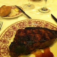 Photo taken at Sparks Steak House by Sanghwan O. on 2/21/2012
