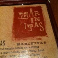 Photo taken at Marinita's by carmen j. on 4/16/2012