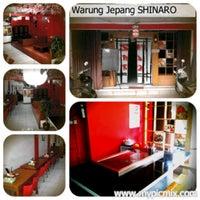 Photo taken at Warung Jepang Shinaro by Surya S. on 8/9/2012