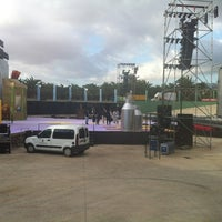 Photo taken at Auditorio Parque Urbano de San Juan by Daniel M. on 2/24/2012