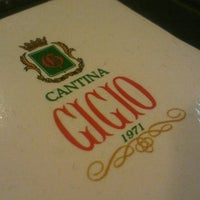 Photo taken at Cantina Gigio by Marcelo A. on 7/21/2012