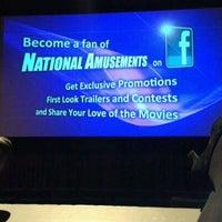 Photo taken at Farmingdale Multiplex Cinemas by Madeleine K. on 4/9/2012