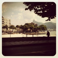 Photo taken at Garota da Urca by Rodrigo C. on 4/13/2012