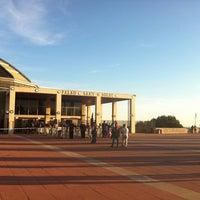Photo taken at Palau Sant Jordi by Elisa D. on 5/10/2012