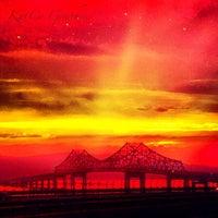 Photo taken at Tappan Zee Bridge by Kristen K. on 8/2/2012