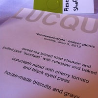 Photo taken at Lucques by F for Food on 6/4/2012