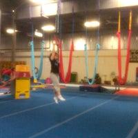 Photo taken at Kingdom Gymnastics by Erica P. on 2/4/2012