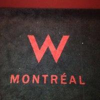 Photo taken at W Montréal by M D. on 5/22/2012