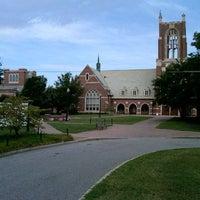 Photo taken at University of Richmond by Matt C. on 7/15/2012