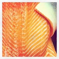 Photo taken at Budaörsi Halpiac - The Fishmonger by Matthias H. on 6/2/2012