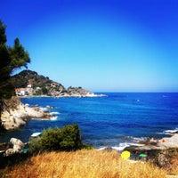 Photo taken at Spiaggia del Cotoncello by Laura C. on 7/12/2012