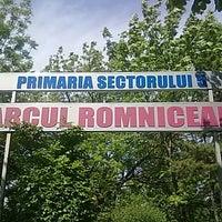 Photo taken at Parcul Romniceanu by Mircea D. on 6/10/2012