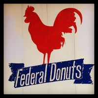 Photo taken at Federal Donuts by Luke F. on 4/14/2012