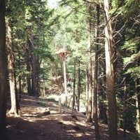 Photo taken at Hunter Mountain Zip Line by Daphified on 8/3/2012