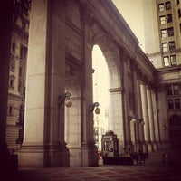 Photo taken at NYC Municipal Building by Juston P. on 2/20/2012