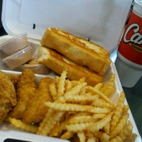 Photo taken at Raising Cane's by Katie L. on 9/1/2012
