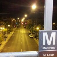Photo taken at CTA - Montrose by Guy F. on 8/18/2012