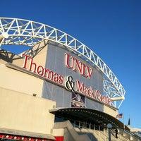 Photo taken at Thomas & Mack Center by Rob M. on 3/9/2012