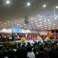 Photo taken at Igreja Adventista do Sétimo Dia - UNASP-EC by Victor F. on 3/30/2012