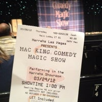 Photo taken at The Mac King Comedy Magic Show by Edwina on 3/29/2012