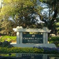 Photo taken at Crowne Plaza Resort by Dee M. on 3/17/2012