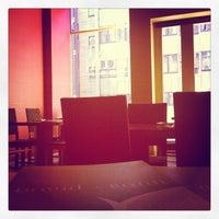 Photo taken at David Bann Vegetarian Restaurant by Muzz on 2/19/2012