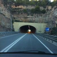 Photo taken at Túnel de la Rovira by TAXI650 BAGES 6. on 2/17/2012