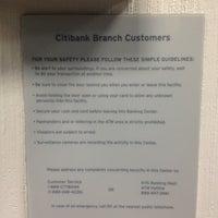 Photo taken at Citibank by Sarah on 4/7/2012