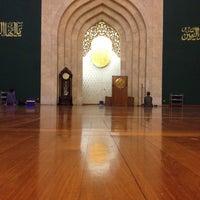 Photo taken at Masjid Agung Al-Ukhuwwah by Syarip Y. on 5/17/2012