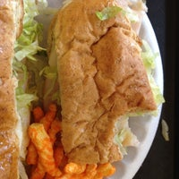 Photo taken at Goodcents Deli Fresh Subs by Anna M. on 9/2/2012