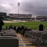 Photo taken at Emirates Old Trafford by Chris W. on 7/10/2012