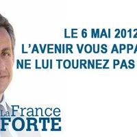Photo taken at Siège de campagne de Nicolas Sarkozy by Luc E. on 4/23/2012