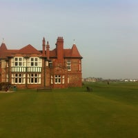 Photo taken at Royal Lytham & St. Annes Golf Club by Gregory S. on 3/23/2012