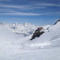 Photo taken at Matterhorn Glacier Paradise by Niina V. on 4/3/2012