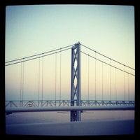 Photo taken at Chesapeake Bay Bridge by Adriana M. on 7/7/2012