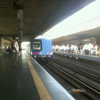 Photo taken at Estação Portuguesa-Tietê (Metrô) by Ricardo G. on 3/2/2012