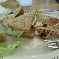 Photo taken at Waffle House by Nadine W. on 2/8/2012