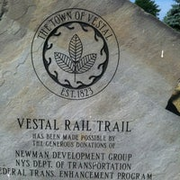 Photo taken at Vestal Rail Trail by Sheryl G. on 7/3/2012