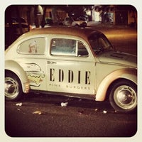 Photo taken at Eddie Fine Burgers by Ivens  L. on 8/6/2012