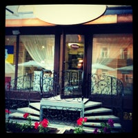 Photo taken at Фарфор Кафе / Farfor Cafe by Alenka ✔ M. on 6/12/2012