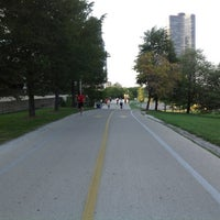 Photo taken at Chicago Lakefront Trail by Evgeni L. on 8/28/2012