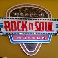 Photo taken at Rock'n'Soul Museum by Rachel M. on 6/5/2012