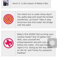 Photo taken at Betsy's Bar by Ki Ki Y. on 3/10/2012