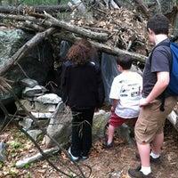 Photo taken at Hobo Hutville by Jennifer C. on 4/26/2012