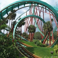 Photo taken at Busch Gardens Tampa by Emerson on 8/8/2012