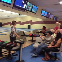 Photo taken at Fantasy Lanes Bowling Center by Sam R. on 8/17/2012